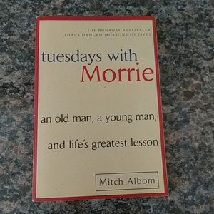 Other - Tuesdays with Morrie Paperback Book